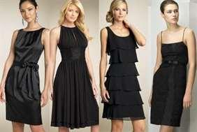 Платье для свидания черное