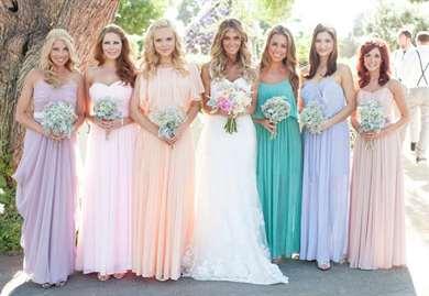 Свадьба в нежных тонах фото
