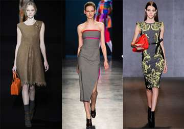 Модные Платья Осеньм