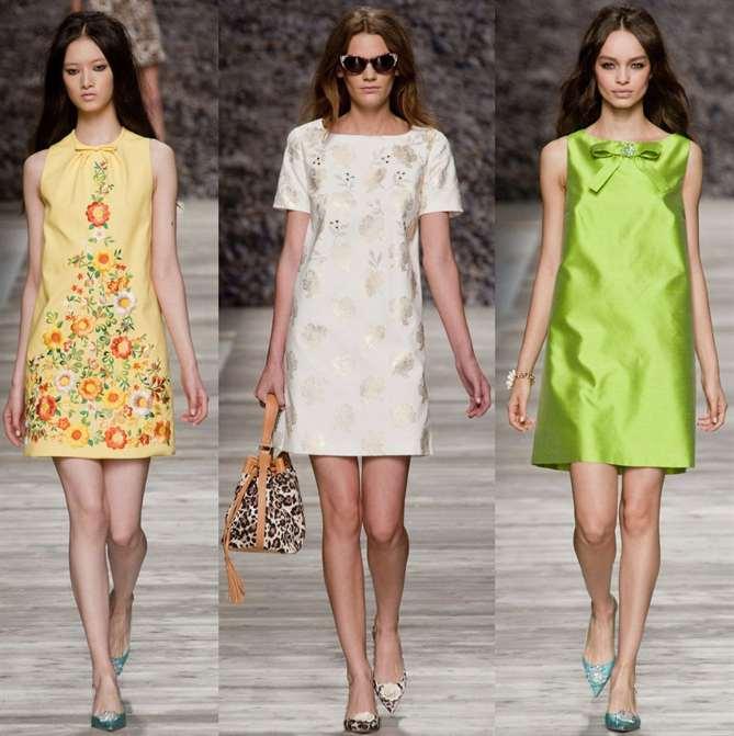 Мода лето 2018 платья на каждый день фото за 40