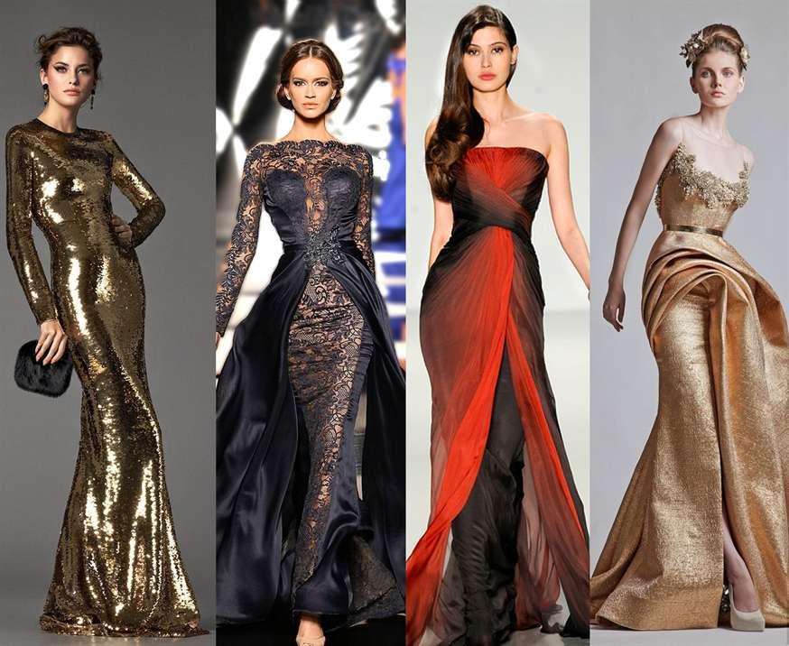 Моднейшие платья на новый год