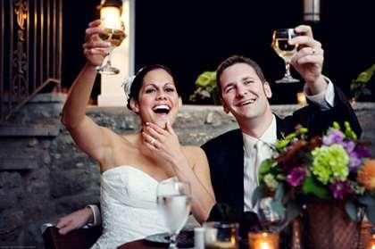 Оригинальные свадебный тосты