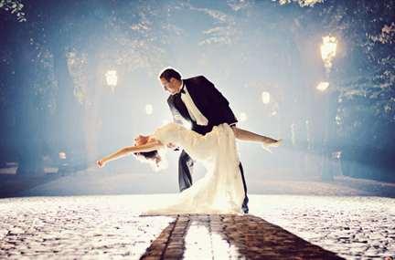 романтические знакомства на свадьбе