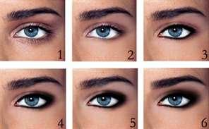 Макияж глаз как делать самостоятельно для разных случаев