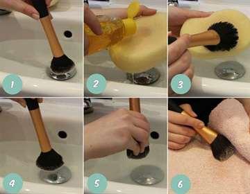 Чем помыть кисти для макияжа в домашних