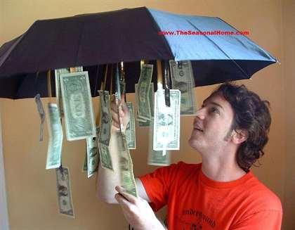 Стих для подарка денежного зонта 321