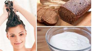 Маски для волос с хлебом для жирных волос
