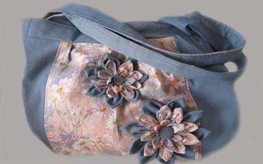 01-239 Цветы из ткани своими руками, пошаговые мастетерклассы