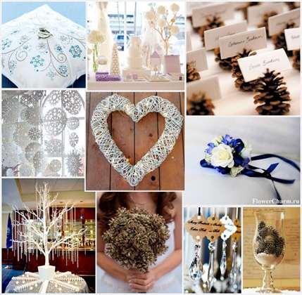 a10dd03f1c37c7b Оформление свадьбы зимой, советы новобрачным