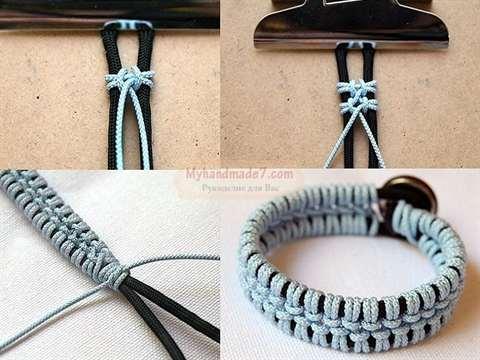 01-236 Как сделать самый простой браслет. Как плести браслеты: лучшие инструкции для начинающих