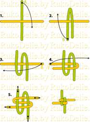 Браслеты из трубочек для плетения