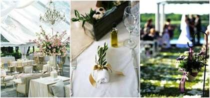 Свадьба в греческом стиле - оформление и проведение