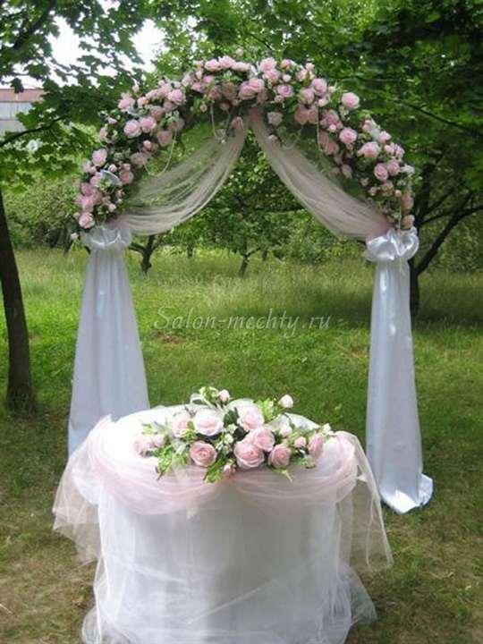 Свадебная арка украшаем своими руками фото 479