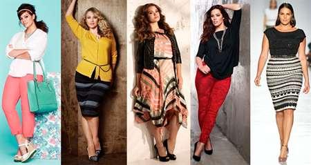 4ecc630dff1 Стильная одежда для полных девушек: правила по подбору