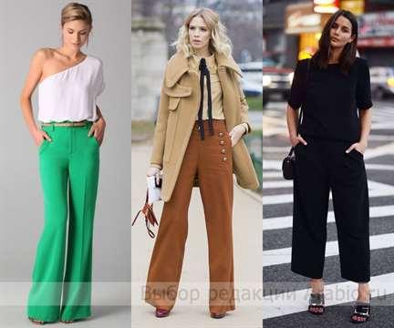 shibr_3 C чем носить широкие брюки и как подобрать верх к таким брюкам?