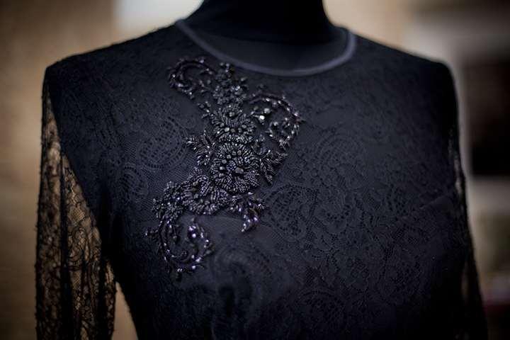 01-465 Вышивка на одежде бисером своими руками