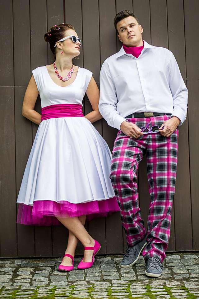 Свадьба в стиле стиляг: одежда для жениха и невесты, оформление зала, идеи