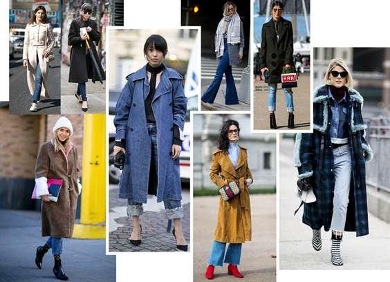 Прямое женское пальто с капюшоном. Модные фасоны, как и с чем носить