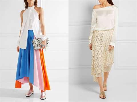 03-36 Асимметричная юбка - фото основной детали элегантного стиля
