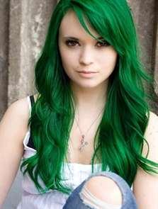 Краска для волос темно зеленого цвета