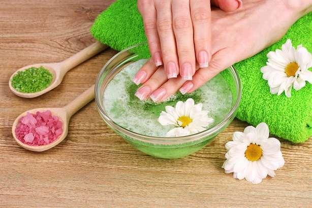 Ванночки для ногтей с морской солью