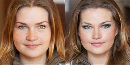 Полный макияж лица