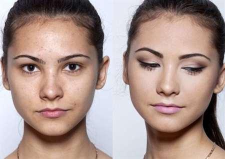Легкий макияж на каждый день в школу