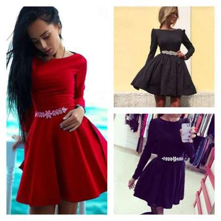 2540a4a40eb С чем носить платье беби-долл  советы и рекомендации